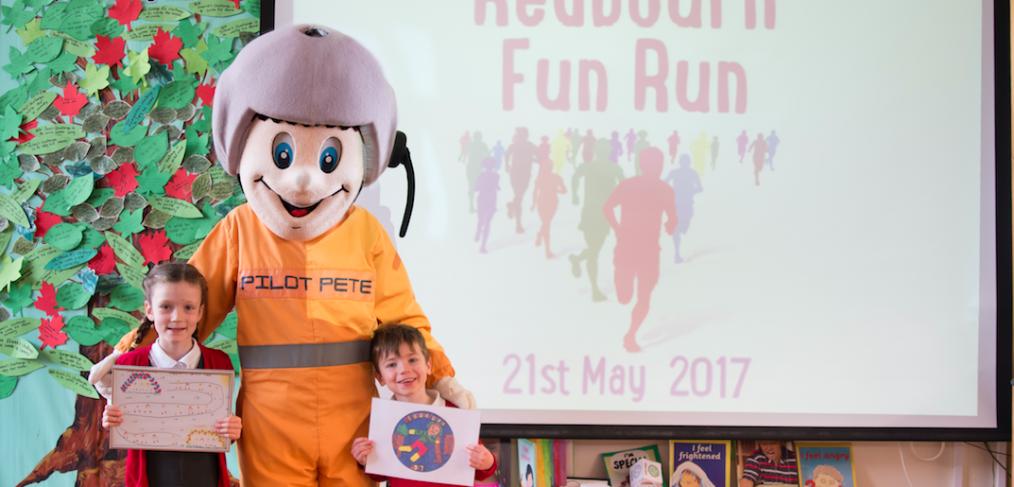 Redbourn Fun Run Launch 2017