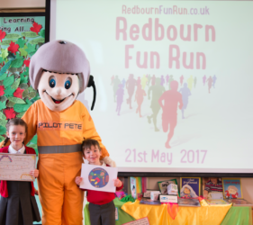 Redbourn Fun Run Launch 2017
