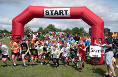 Redbourn fun run 2017 5k start