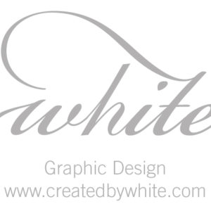 White Graphic Design